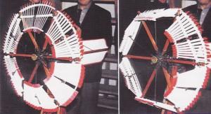 Haladayova turbína - regulace