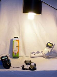 Úspory elektrické energie - úsporná žárovka